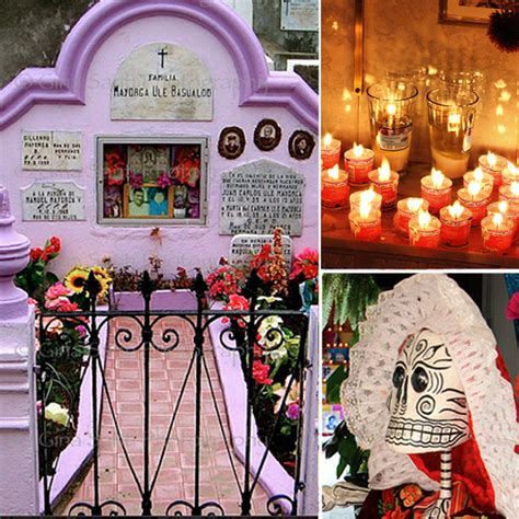 Dia De Los Muertos Home Decor dia de los muertos altars and decor photos popsugar home