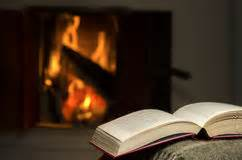 Fireplace Book by Santa Stock Images Image 17048174