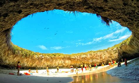 Marieta Islands Hidden Beach from bomb test to love nest find playa del amor if you