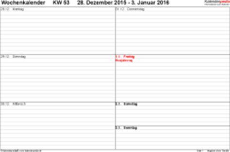 Word Vorlage Th Köln Wochenkalender 2016 Als Pdf Vorlagen Zum Ausdrucken