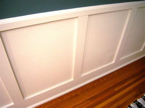 How To Apply Wainscoting To Walls Wainscoting Diy Network And Wood Paneling On