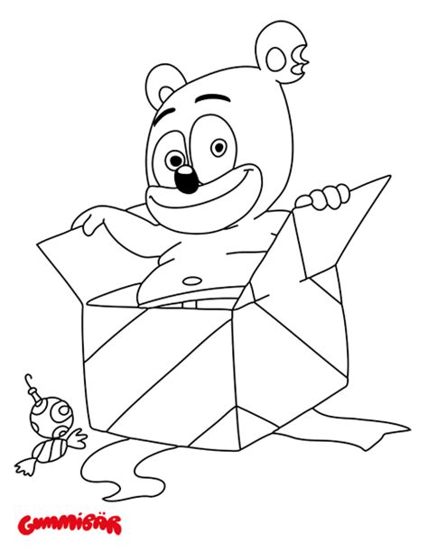 coloring pages gummy bear download a free printable gummib 228 r december coloring page