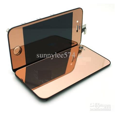 Mirror For Iphone 4g Black gold iphone verizon white gold