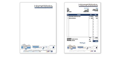 Letter Headed Invoice Books Letterhead Design Puro Design
