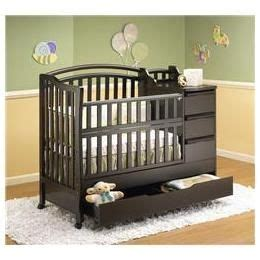 Cribs For In Small Spaces by Mini Crib Changer Combo Orbelle Mini Crib N Bed With