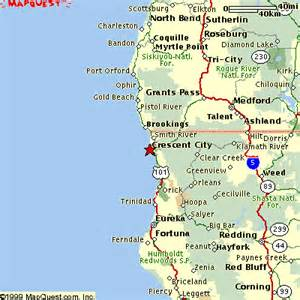 map of crescent city california california coast crescent city search results global