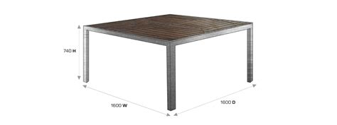 8 person rectangular dining table dimensions for room