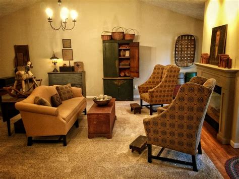 Primitive Living Room Furniture 1825 Best Primitive Homes Decor Images On