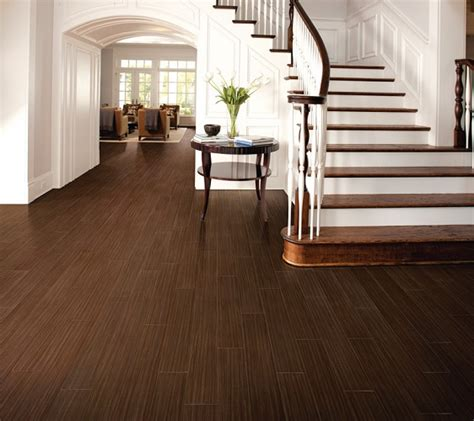 porcelain wood plank flooring adds value to ta home
