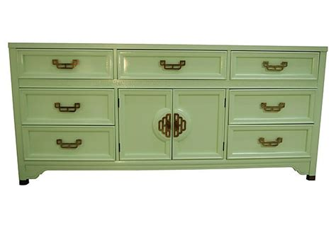 mint color dresser mint mandarin dresser by henry link on onekingslane