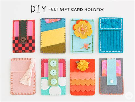 make gift card holder fresh felt gift card holders think make