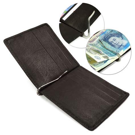 Mocca Leather Wallet zippo genuine leather bi fold s wallet money clip
