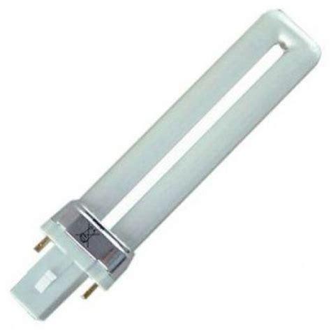 two prong fluorescent light bulbs 11 watt 2 pin biax s white compact fluorescent light