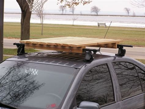 How To Build Roof Rack by Wooden Roof Rack Cing Roof Rack Diy