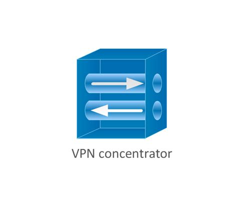 cisco vpn tunnel icon cisco products additional vector stencils library