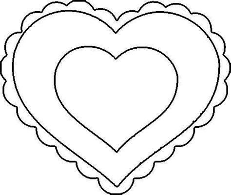 hearts coloring pages pdf my craft notebook kalp şablonları heart template