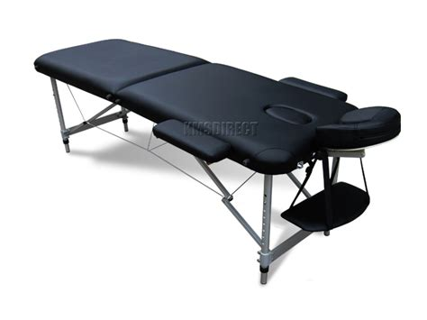 beauty therapy couch black portable massage table bed beauty therapy couch 2
