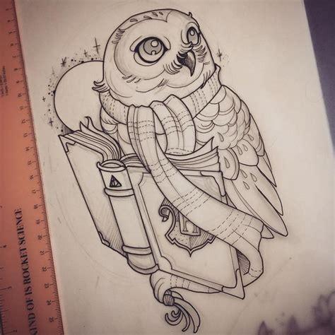 harry potter owl tattoo resultado de imagem para tatuagem coruja livros