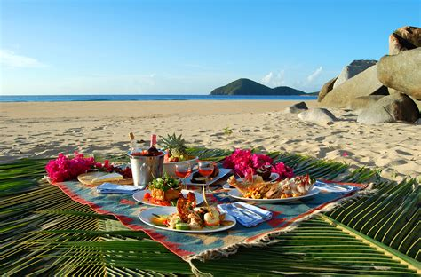 Dining Room Set Up by Recipes Lazy Days Picnic Caribbean Style