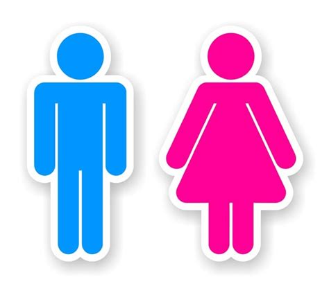 boy girl bathroom sign venus vs mars a case to drop the gender bias