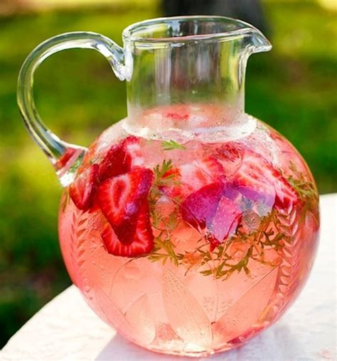 Watermelon Strawberry Detox Water by Summer Detox Water Up Where Get