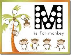 letter m for monkey confessions of a homeschooler