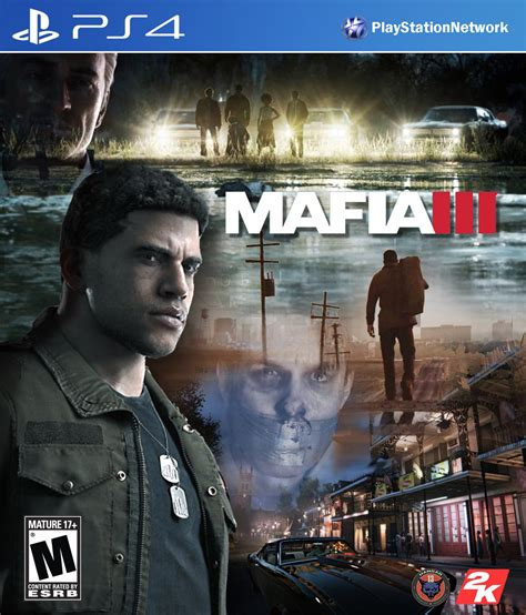 mafia iii ps4 cover by domestrialization on