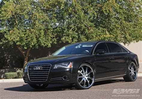 audi a8 with rims 2012 audi a8 with lexani lx 9 in machined black wheels