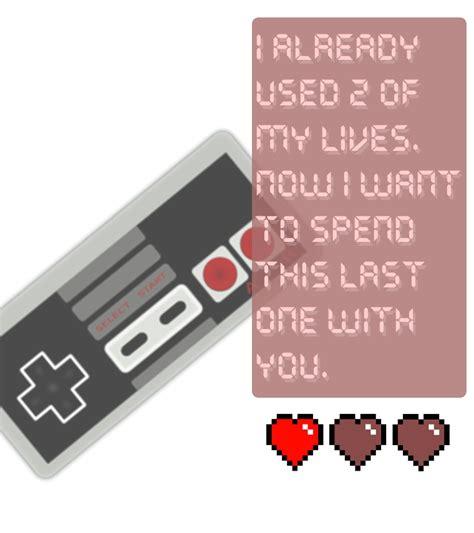 gamer valentines by 4te on deviantart