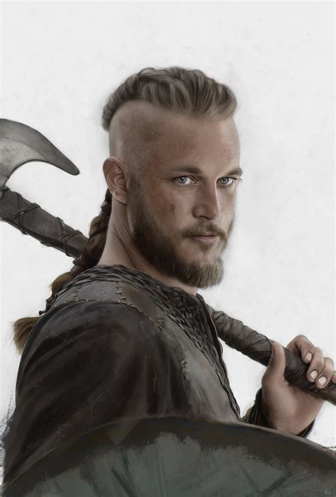 vikings history channel ragnar hair vikings ragnar lodbrok by coffeeandmarkers on deviantart