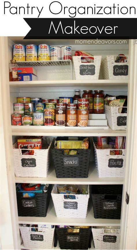 Organizing Kitchen Cabinets by Pantry Organization Makeover