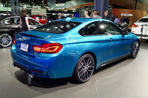 Bmw Of Rock by 2017 New York Auto Show Bmw 440i In Snapper Rocks Blue