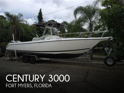 fishing boats for sale fort myers florida sold century 3000 boat in fort myers fl 114882