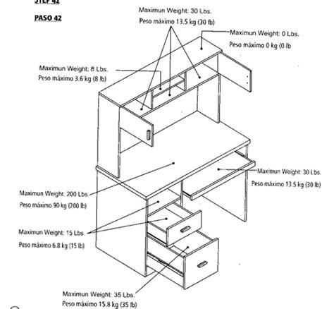 Illustra Desk With Hutch Illustra Desk With Hutch Espresso Home Office Desks