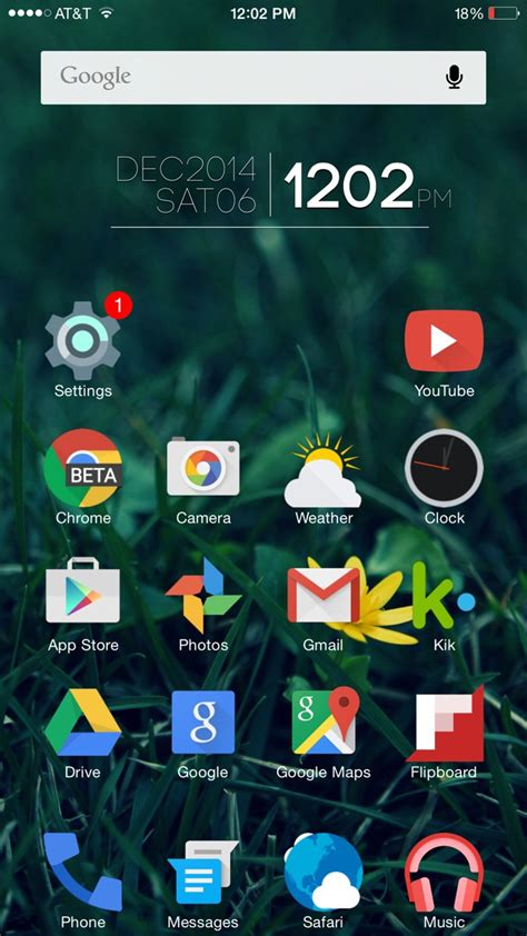 themes for android version 2 3 6 android theme on my iphone 6 plus iosthemes