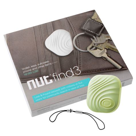 lost finder nut find3 bluetooth smart anti lost tracker key finder real time location