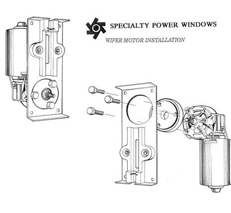 specialty power windows wiper wiring diagram 44 wiring