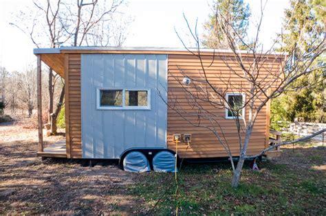 tiny house houzz tiny house exterior utilities hookup contemporary