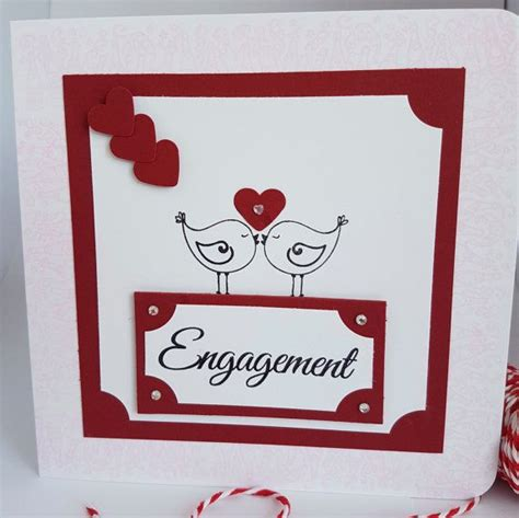 Handmade Congratulations Card Ideas - 25 best ideas about engagement cards on