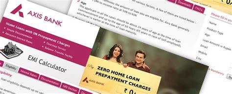 axis bank housing loans web development delhi website design delhi web design portfolio volition design
