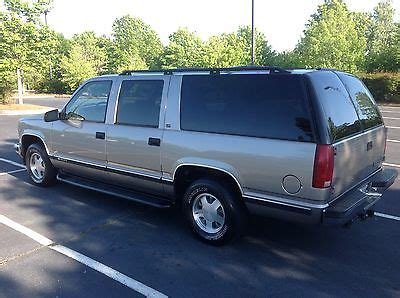 how to work on cars 1999 chevrolet suburban 2500 on board diagnostic system 1999 chevy suburban lt cars for sale