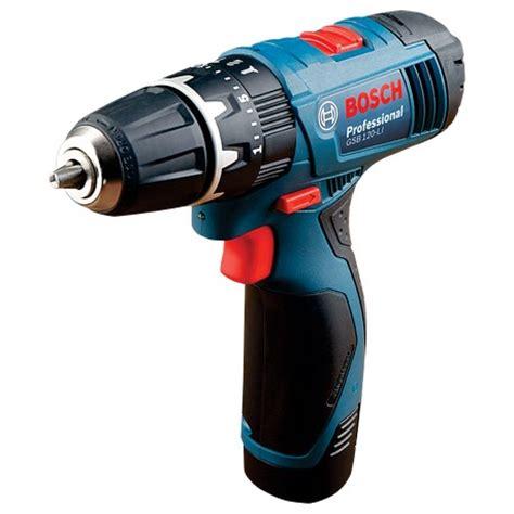 Bosch Gsb 120 Li Cordless Impact Drill Bor Alat Tukang Pertukangan gsb 120 li gsb 1080 li