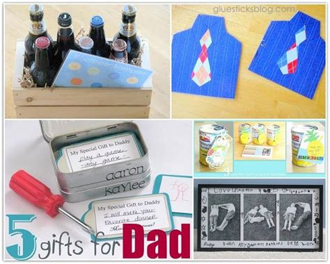 semi homemade gifts for dad holiday festivities pinterest