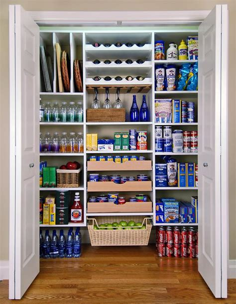 Organize Kitchen Ideas by Pics Photos Pantry Kitchen Storage Organization Shelves