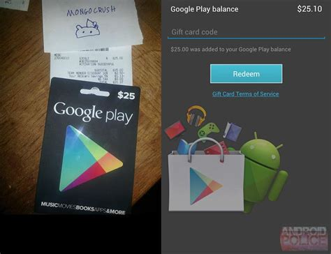Google Play Gift Card Retailers - google play gift cards hit retail stores pocketnow
