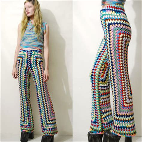 crochet pattern for yoga pants best hippie flare pants products on wanelo