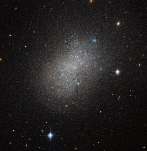 images of space hubble spots irregular island in a sea of space nasa