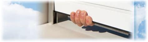 ladari di plastica sistema di bloccaggio antisollevamento per tapparelle