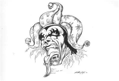 evil jester by luciandaemon6 on deviantart