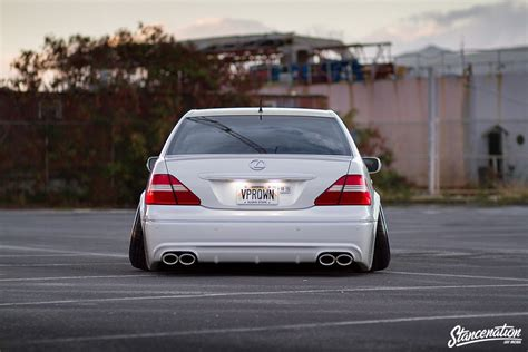 lexus ls430 vip style hawaii five ohhhhhh the vpr lexus ls430 stanced rides